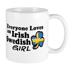 Irish Swedish Girl Mug