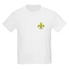 """""""Gold Fleur"""" Kids T-Shirt"""