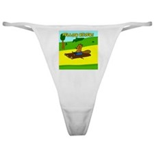 Yellow River! Classic Thong