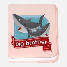 Big Brother Shark baby blanket