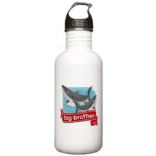 Big Brother Shark Sports Water Bottle