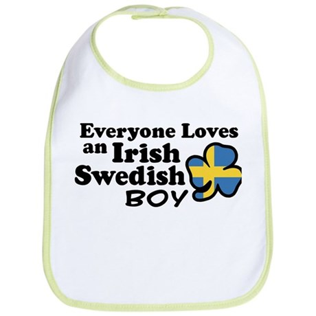 Irish Swedish Boy Bib