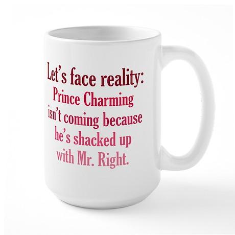 Prince Charming & Mr. Right Large Mug