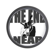 The End is Near Wall Clock