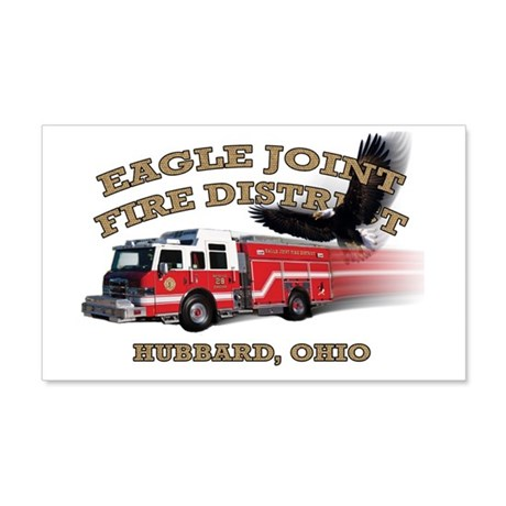 Eagle Joint Fire District 22x14 Wall Peel