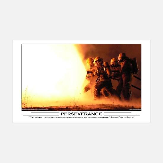Firefighter Perseverance 38.5 x 24.5 Wall Peel
