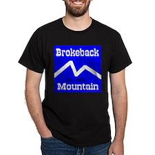 Brokeback Mountain Elv. 6969 Black T-Shirt