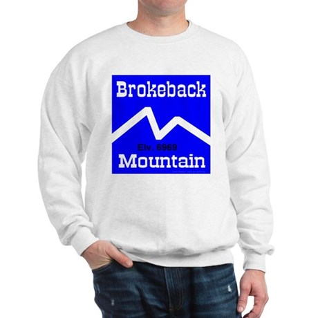 Brokeback Mountain Elv. 6969 Sweatshirt