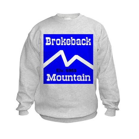 Brokeback Mountain Elv. 6969 Kids Sweatshirt