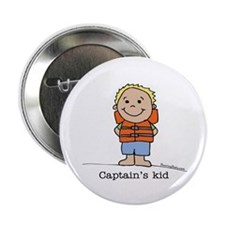 Captain's Kid Boy 1 Button
