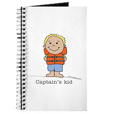 Captain's Kid Boy 1 Journal