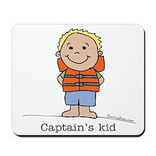 Captain's Kid Boy 1 Mousepad