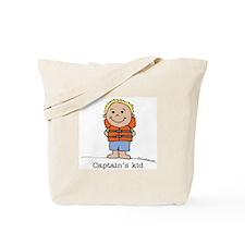 Captain's Kid Boy 1 Tote Bag