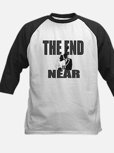 End Is Near Groom Kids Baseball Jersey