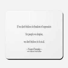 Noam Chomsky  Mousepad