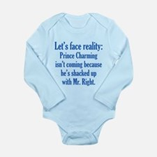 Prince Charming & Mr. Right Long Sleeve Infant Bod