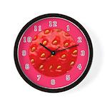 FRUIT & VEGGIE SERIES:  Strawberry W. Clock