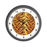 SAFARI SERIES:  Tiger Wall Clock