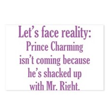 Prince Charming & Mr. Right Postcards (Package of