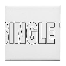 Single ? Tile Coaster