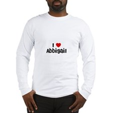 I * Abbigail Long Sleeve T-Shirt