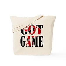 Got Game Black Red Tote Bag