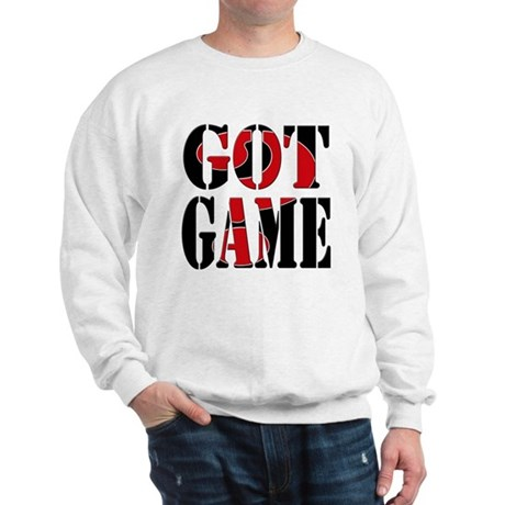 Got Game Black Red Sweatshirt