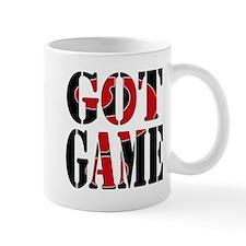 Got Game Black Red Mug