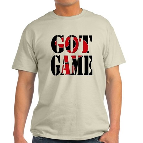 Got Game Black Red Light T-Shirt