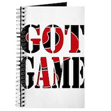 Got Game Black Red Journal