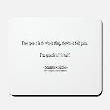 Salman Rushdie Mousepad