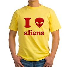 I Love Aliens T