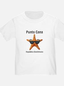 Punta Cana BIG Starfish Black T