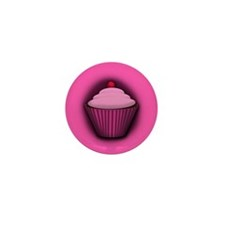 Cupcakes Mini Button (10 pack)