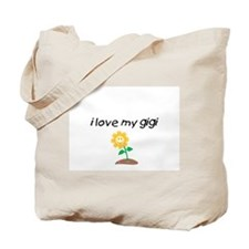 Cute Elderly Tote Bag