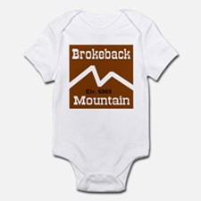 Brokeback Mountain Elv. 6969 Infant Creeper