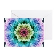 Rainbow Flake Greeting Card