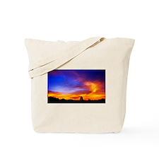 Skyfire Tote Bag