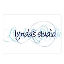 Lynda's Studio Postcards (Package of 8)