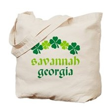 Savannah Georgia Irish Tote Bag