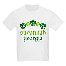 Savannah Georgia Irish T-Shirt