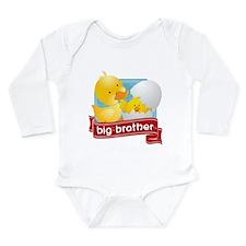 Big Brother Duck Long Sleeve Infant Bodysuit