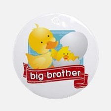 Big Brother Duck Ornament (Round)