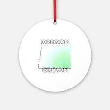 Oregon grown Ornament (Round)