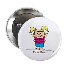 First Mate Girl 1 Button