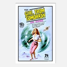 Girl From Tomorrow Postcards (Package of 8)