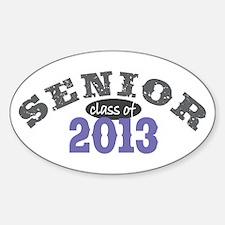 Senior Class of 2013 Decal