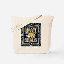 US Navy Seals Skull Tote Bag