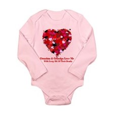 Grandma and Grandpa Love Me Valentine Long Sleeve