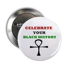 Celebrate Black History Button